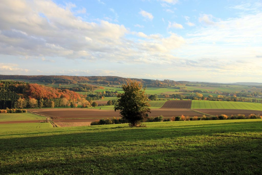 Foto Panorama Weserbergland
